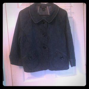 Style & CO. Blue Jean Jacket